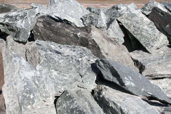 Зарождение талькомагнезита - камень
